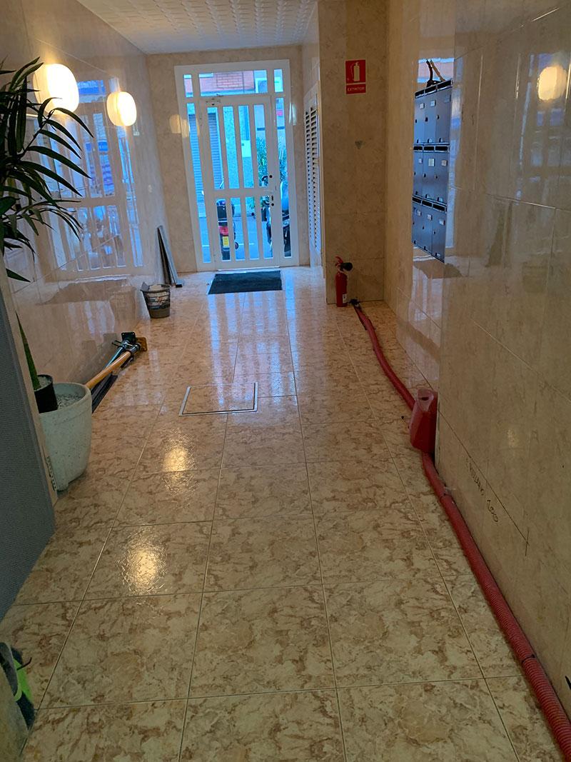 Instalación ascensor Castelldefels-Zona Castillo | Ascensores Ramase