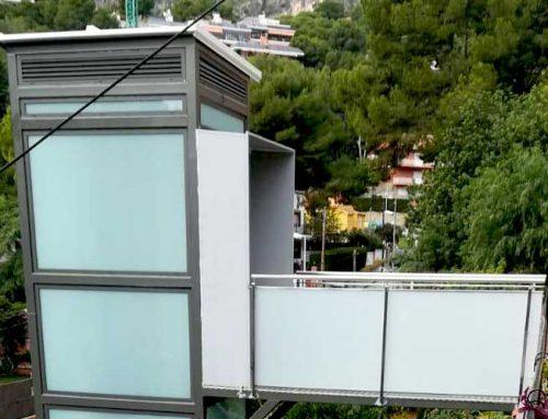 Instal·lació ascensor tipus PEV – Montemar Castelldefels