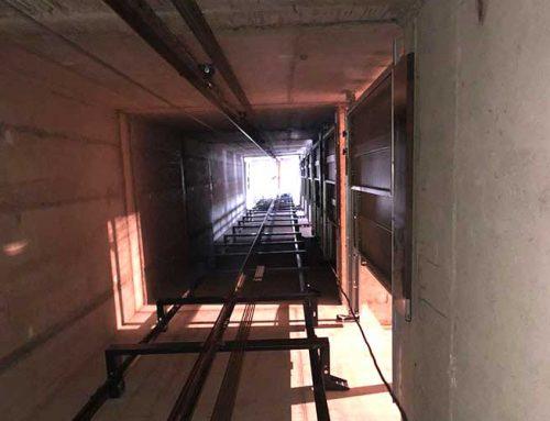 Instalación de 4 ascensores – Castelldefels