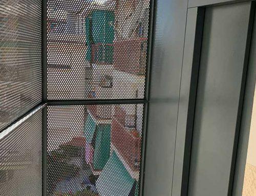 Instalación Ascensor por patio de manzanas Viladecans Centro