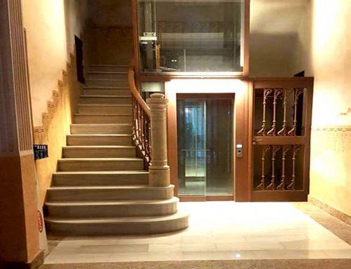 Instal·lació ascensor Finca catalogada