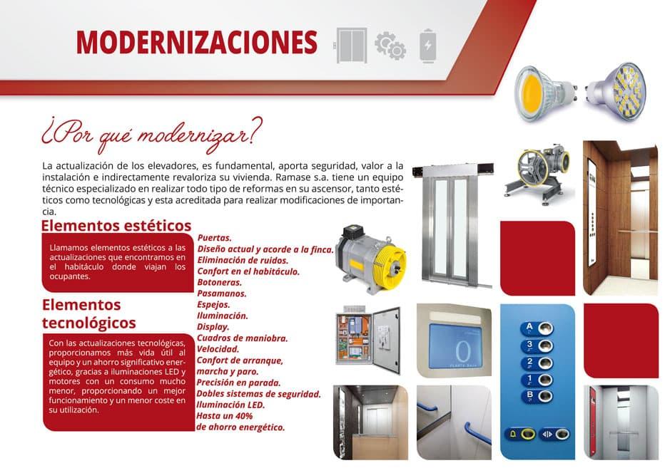 Empresa de ascensores en Barcelona - Ascensores Ramase
