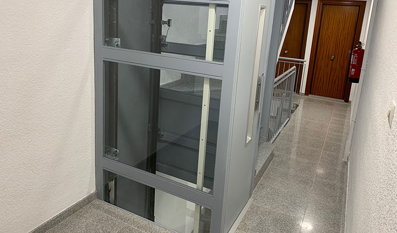 Ascensores para edificios sin hueco - Ascensores Ramase