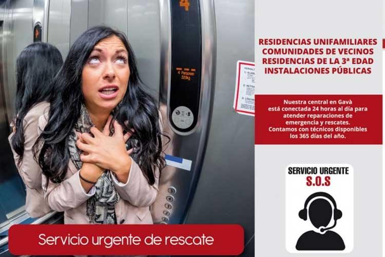 Cómo salir de un ascensor atascado