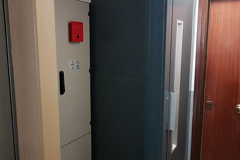 Ascensor sin cuarto de máquinas - Ascensores Ramase